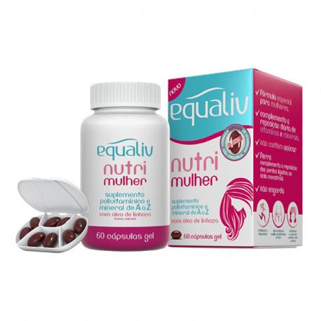 Equaliv Nutri Mulher - 60 caps