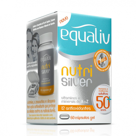 Equaliv Nutri Silver 60 - Suplemento Polivitamínico