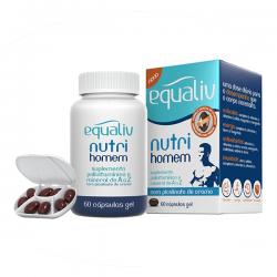 Equaliv Nutri Homem 60 - Suplemento Polivitamínico