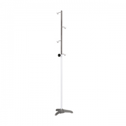 Suporte p/ soro c/ tripé fundido e altura regulável