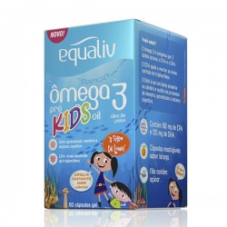 Equaliv Ômega 3 Kids 60 Caps