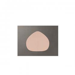 Placa Formato Coração Grande - Rigida - 35X28CM Macom 91B